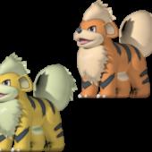 Growlithe Pokemon Character