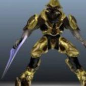 Halo 4 Sangheli Character