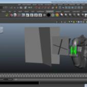 Halo 4 Plasma Pistol Gun