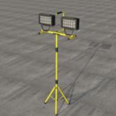 Standing Halogen Lamp