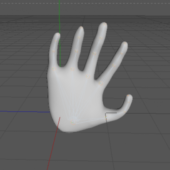 Simple Hand Rig