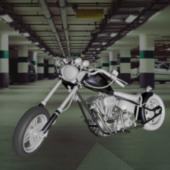 Harley Davison Motor Bicycle