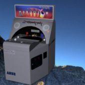 Hologram Time Traveler Arcade Machine