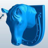 Head Horse Door Knocker