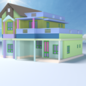 Simple Town House