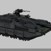 Military Hover Tank