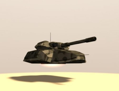 Hovering Tank Weapon