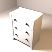 Ikea Chest Of Drawers (real Dimensions)