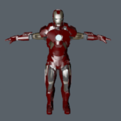 Iron Man Metal Suite Design