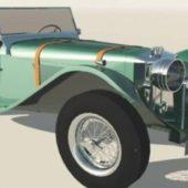 Jaguar Vintage Car