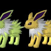 Jolteon Pokemon Character