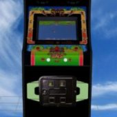 Jungle King Arcade Machine