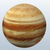 Realistic Jupiter Planet