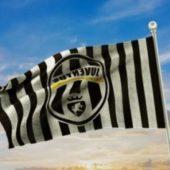 Old Juventus Icon Flag