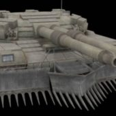 Soviet Kravchenko Concept Tank