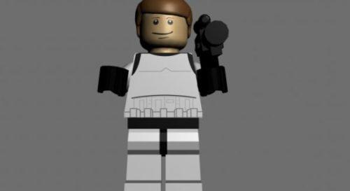 Lego Han Solo Character