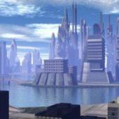 Lake City Scene
