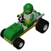 Lego Green Buggy