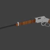 Lever Action Rifle Gun