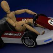 Little Go Kart Car