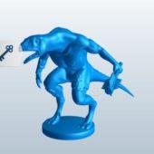 Lizard Beast-man Character