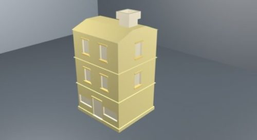 Simple Low Poly Building