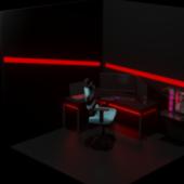 Gaming Room Scene