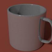 Low Poly Mug Cup