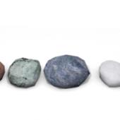 Low-poly Rock Pebble
