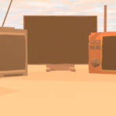 Lowpoly Tv Pack