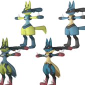 Lucario Pokemon Character