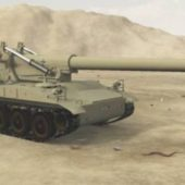 M110 A2 Howitzer Tank