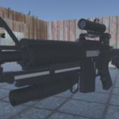 M4 Rifle Gun