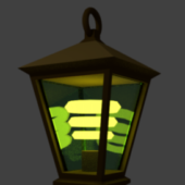 Vintage Style Magic Lamp