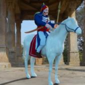 Maharana Ridding Chetak Character
