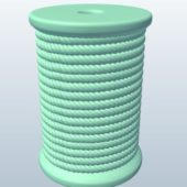 Manila Rope Spool