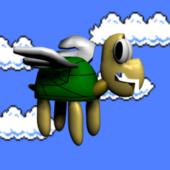 Mario Kupa Turtle Chracter
