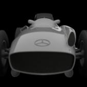 Mercedes Benz Silver Arrow Car