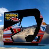 Monaco Gp Upright Arcade Machine