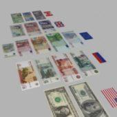 Dollar Euro Money