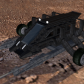 Moon Walker Vehicle With Canon