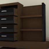 Mordern Wood Dresser