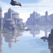 Naboo Complex City Scene