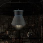 Old Vintage Factory Lamp