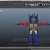Optimus Prime Mini Character