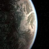 Planet Corsucant Scene