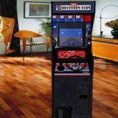 Pole Position Upright Arcade Machine