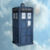 Police Phone Booth Tardis
