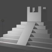 South America Pyramid