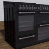 Kitchen Set Range Cooker